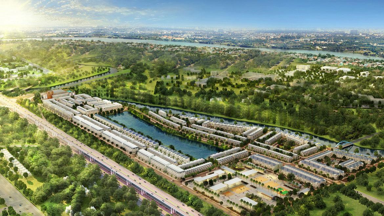 Bất động sản sinh thái khu Đông hút nhà đầu tư Bắc