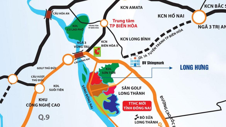 3 dự án khu đô thị hot quy hoạch tại Long Hưng Biên Hòa