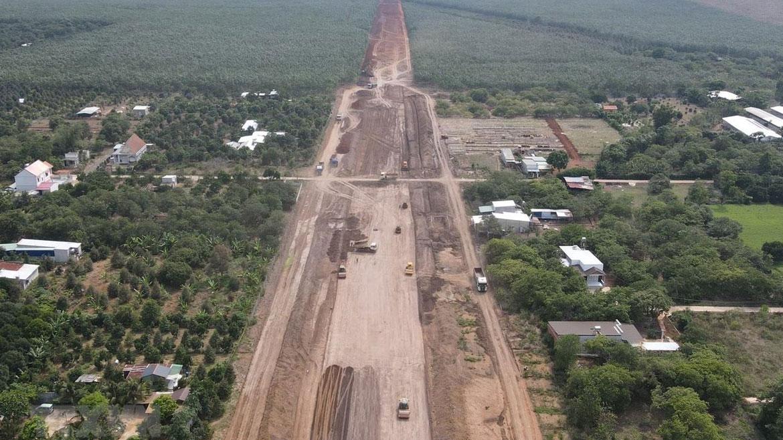 Dự án cao tốc Dầu Giây Phan Thiết dần lộ diện