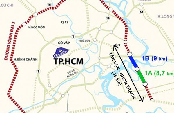 Đường vành đai 4 tạo đà phát triển BĐS phía nam TP HCM